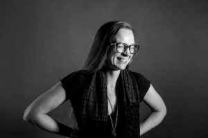 Sarah Hooper, an insider from the marketing world