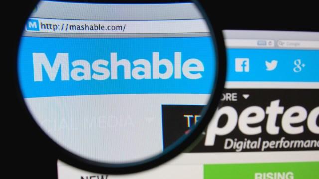 mashable sale