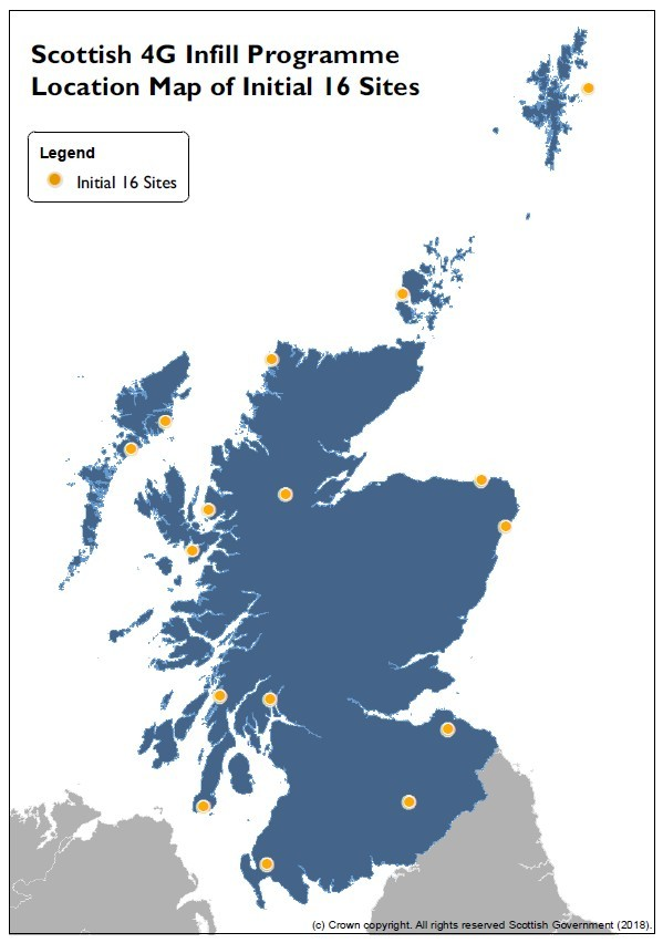 4G Coverage Scotland