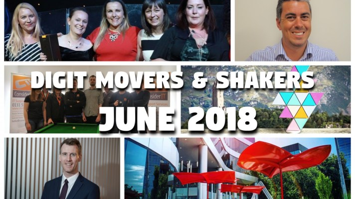 DIGIT MOvers and Shakers June 2018
