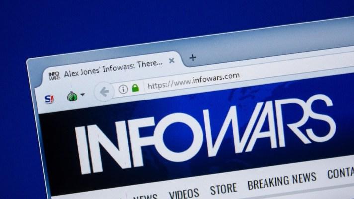 Info Wars Alex Jones Twitter
