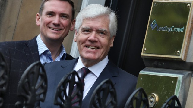 Stuart Lunn LendingCrowd Sir Sandy Crombie