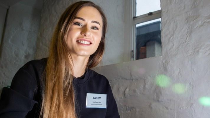 graduate apprentice Iza Ledzka