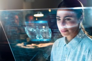 biometric facial scan