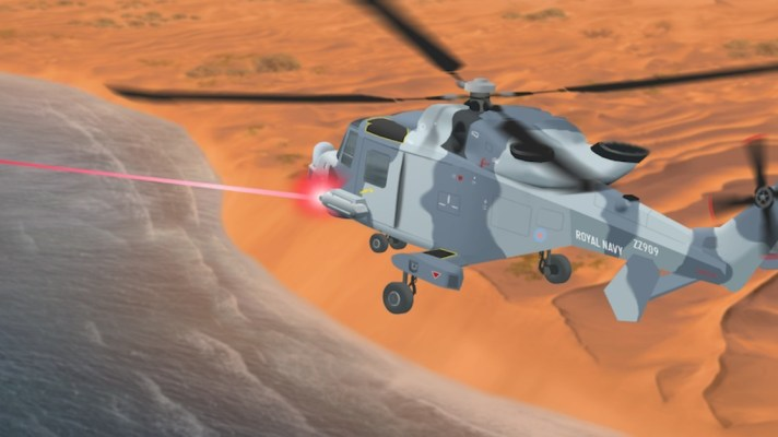 MOD Laser Weapons