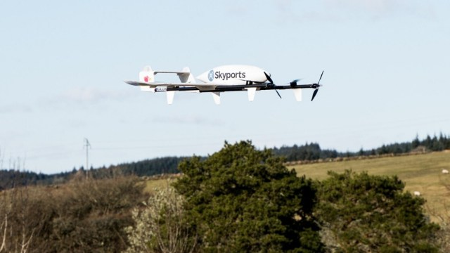 NHS Drone delivery