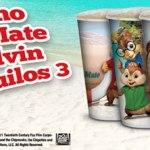 Rei do Mate, com o tema do filme Alvin e os Esquilos 3