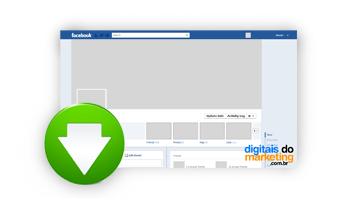 Download template nova timeline Facebook