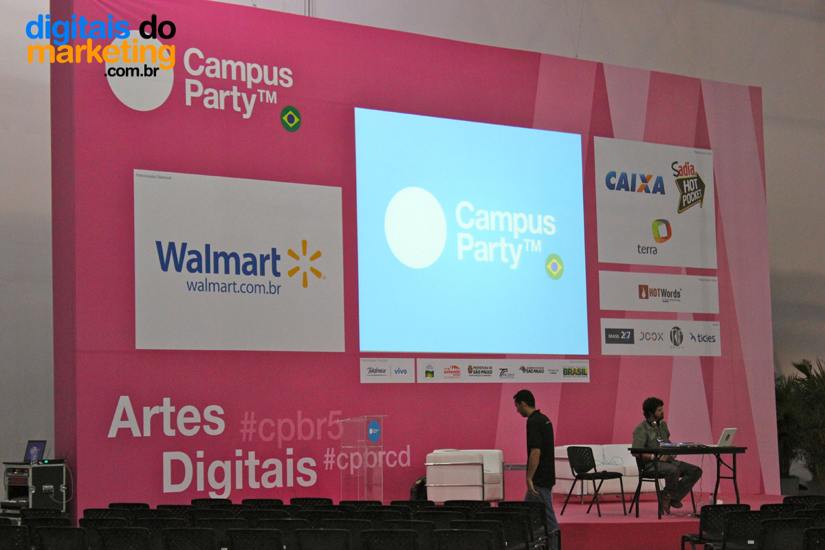 Campus Party - Área barracas