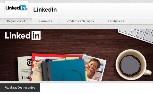 Página de Empresa do Linkeidn