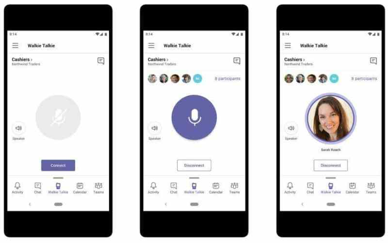 Microsoft Teams bekommt Walkie-Talkie-Funktion