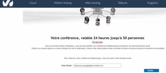 conférence téléphonique et visioconférence