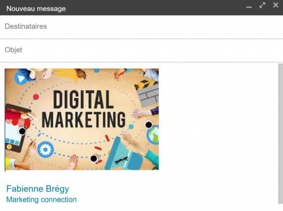Gmail au profit de notre productivité individuelle - Insérer des images en un clic