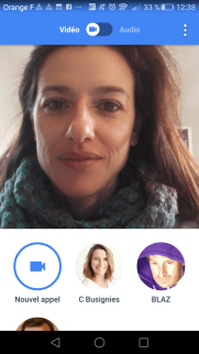 Visioconférence : Google Duo