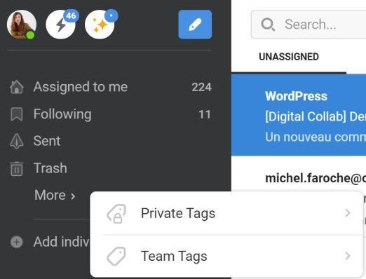 Front Apps : Tags