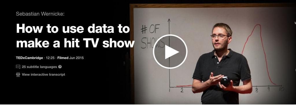 Comment utiliser des données pour créer une série à succès