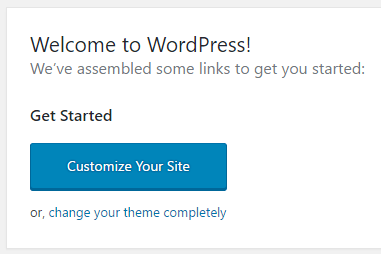 Customize WordPress