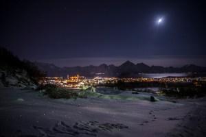 Arctic Afternoon in Melbu, Vesterålen   Foto: Marc Ihle   2017.12.28