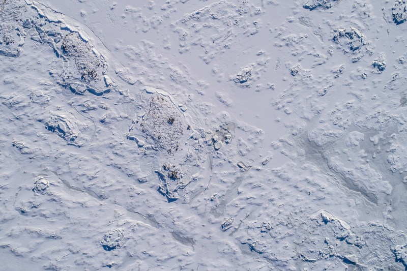 Frozen Coastline Andøya | Areal Flights 2018, Marc Ihle