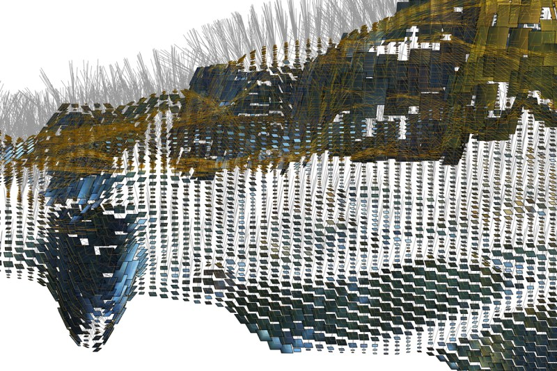 Directional Extrapolation | Point Cloud to Vectors | Pilot Study Festvåg: Digital Extrapolation of Terrain Directions & Attributes | Marc Ihle | Innsbruck | 2018