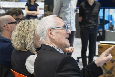 The Jury: Peter Cook, Andrea Panconesi, Marjan Colletti, Stefan Rutzinger, Galo Moncayo Asan, Peter Massin, Marc Ihle | More than Décor | Tutors: Galo Moncayo-Asan, Peter Massin and Marc Ihle | Institute of Experimental Architecture.Hochbau | Prof. Marjan Colletti | University of Innsbruck | 2014 / 2015