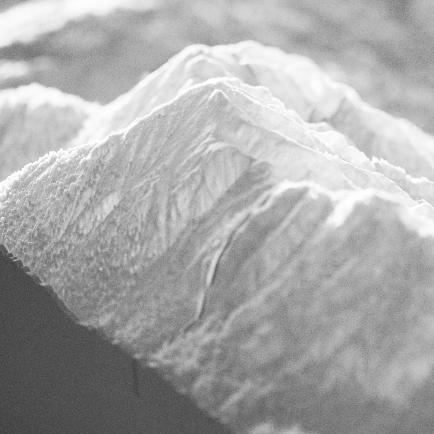 The valley of Alpbach | 3d Print in white PLA | Resarch Project at the Institute of Experimental Architecture | Funded by TVB Alpbach | Projectleader: Marc Ihle | 2016 | – © University of Innsbruck | Austria