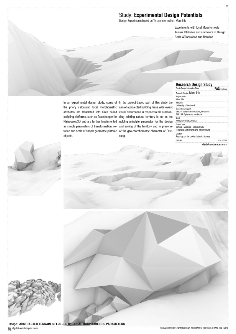 NEGOTIATING ARCTIC TERRAIN | Design Proposal for Touristic Infrastructures on the Peninsula of Festvaag | Design Experiments Marc Ihle | 2018