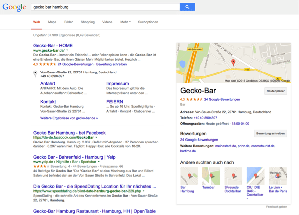 google-location-based-service