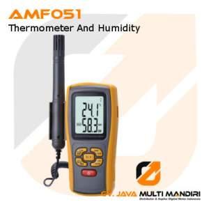 Alat Ukur Suhu dan Kelembaban AMTAST AMF051
