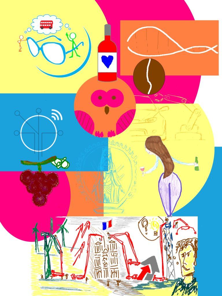 fond trophée personnalisé fresque digitale aNa artiste