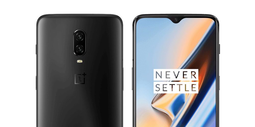This is the OnePlus 6T