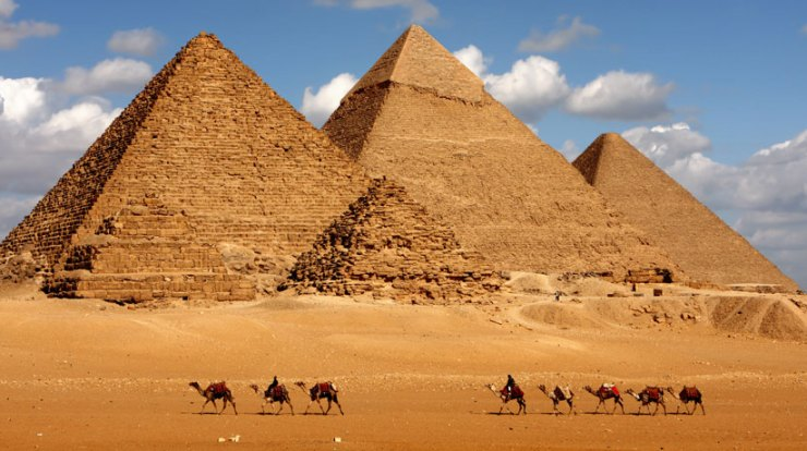 how were the pyramids built theories