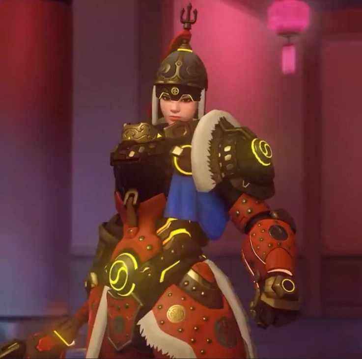 Overwatch Year Of The Pig Event Skins Revealed For Brigitte