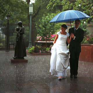 Wedding Photography Rain
