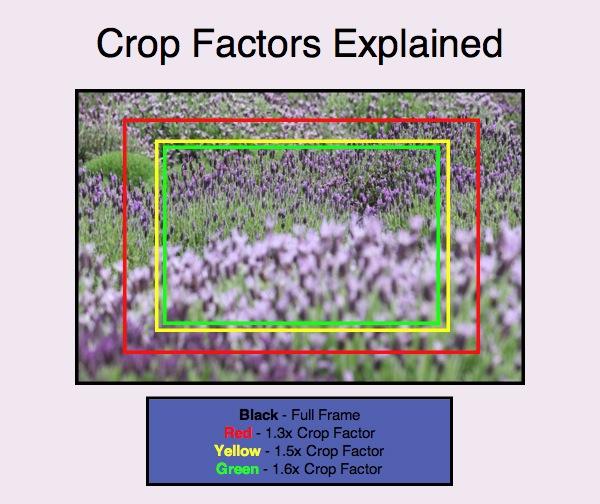 plein cadre vs capteur crop