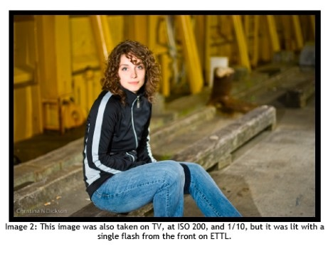 How to Use Flash for Night Portraits