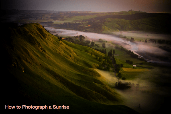 How to Photograph a Sunrise