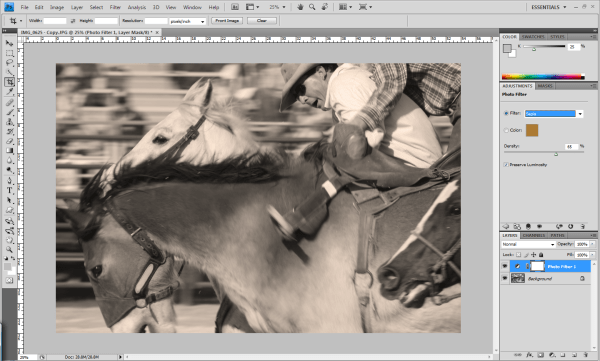 Discover Seven Ways to Create Sepia Images in Photoshop