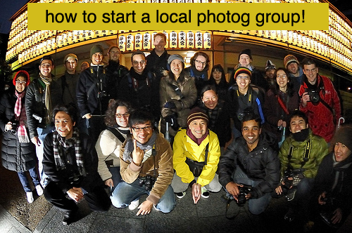 5 Steps To Starting A Photography Group In Your Area 1