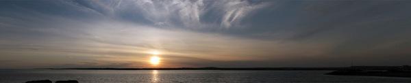 Nathan Hale Park Sunset Panorama