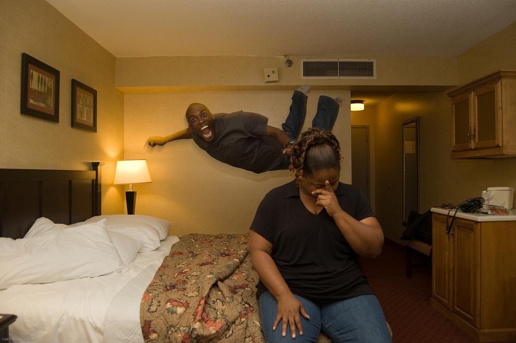 Jump Image by Mikey aka DaSkinnyBlackMan in Iraq