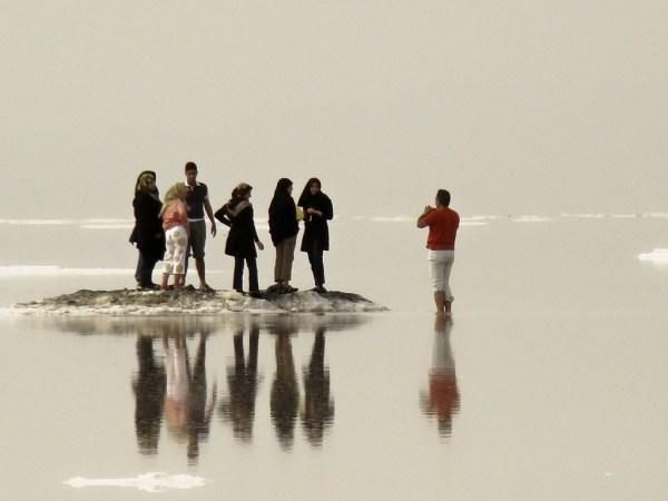 Image: Urmia Salt Lake by Mehrad.HM