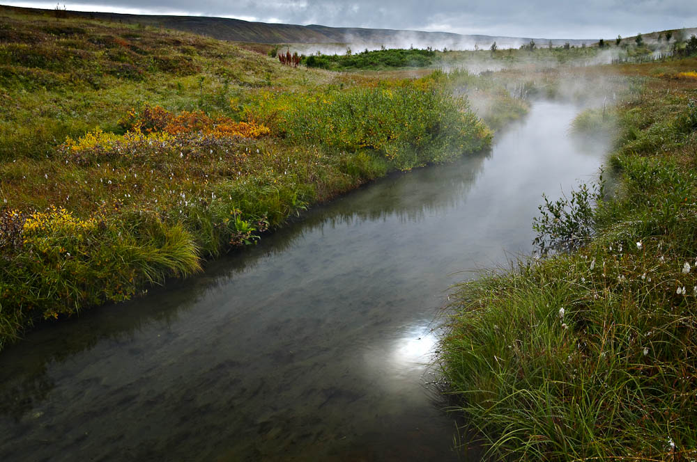 Hot Stream, Húsavík, Iceland.   Image Copyright Joe Decker