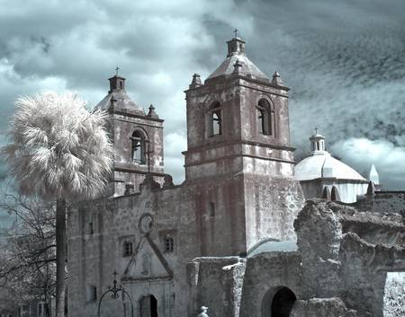 Infrared Mission Concepcion - Spanish - San Antoni by Portell Imagery Cafe