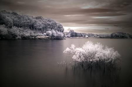 infrared - drowning by mike irwin