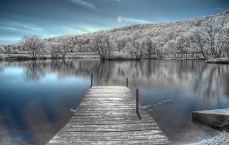 Dock Infrared by Matt Billings