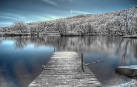 Dock Infrared by Matt Billings