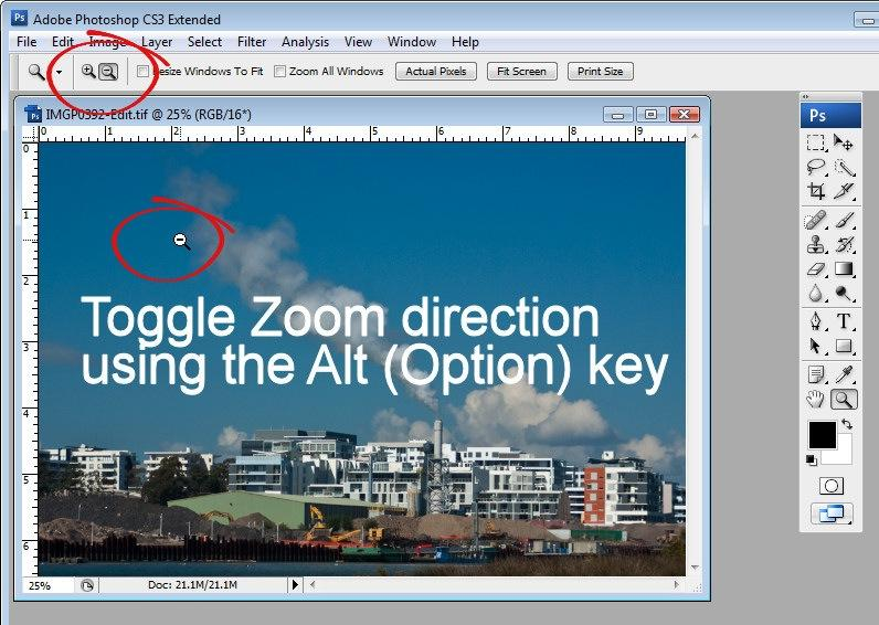 5e0fc8188e However, once engaged, the Zoom tool operates in only one direction, in or  out depending on the option you have selected on the Tool Options bar.