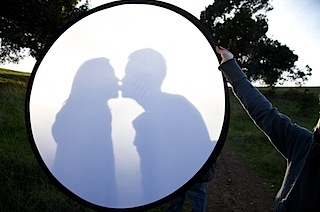 A Novel Use for Reflectors (Image by mamma tang)