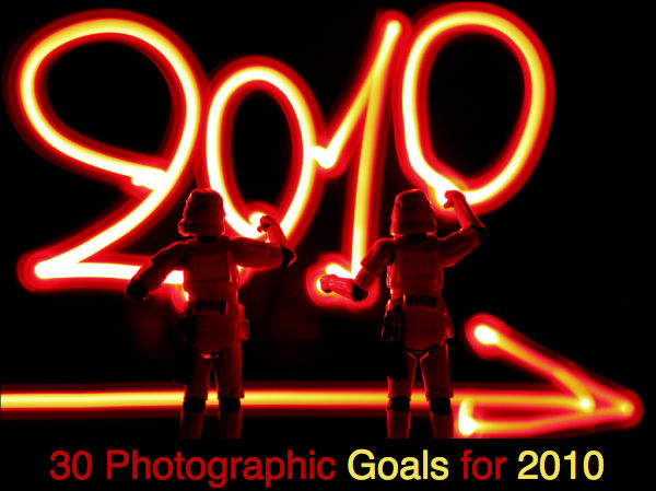 30 Photographic Goals for 2010